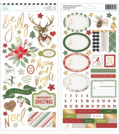 AC - Heidi Swapp Winter Wonderland - Cardstock Sticker