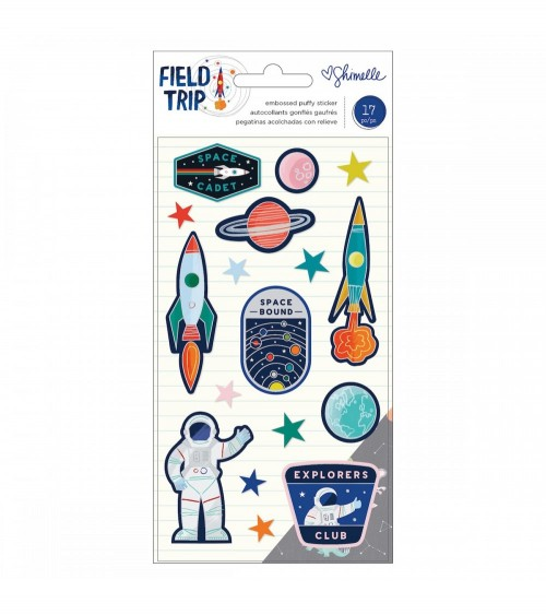 AC - Shimelle Field Trip - Embossed Puffy Stickers