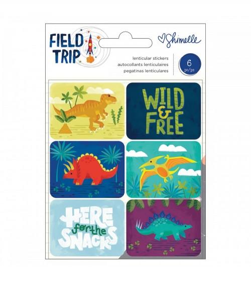AC - Shimelle Field Trip - Lenticular Dinosaur Stickers