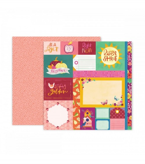 Pink Paislee - Paige Evans Truly Grateful - 01 Paper