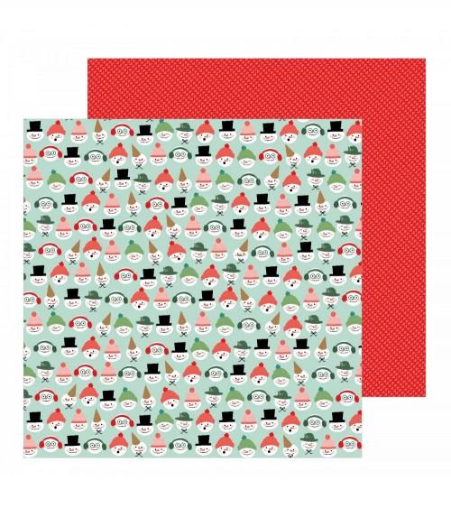 Pebbles - Merry Little Christmas -  Snow Friends