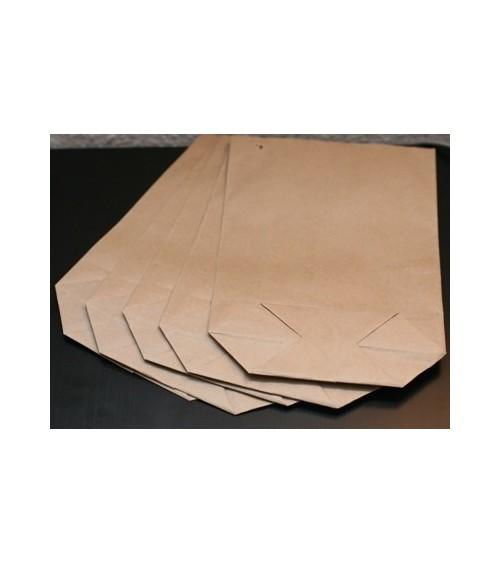 5 Papiertüten mit Boden 15x21 cm