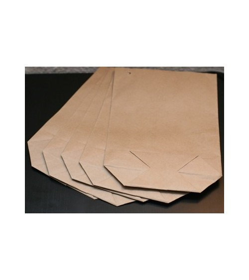 5 Papiertüten mit Boden 17x26 cm