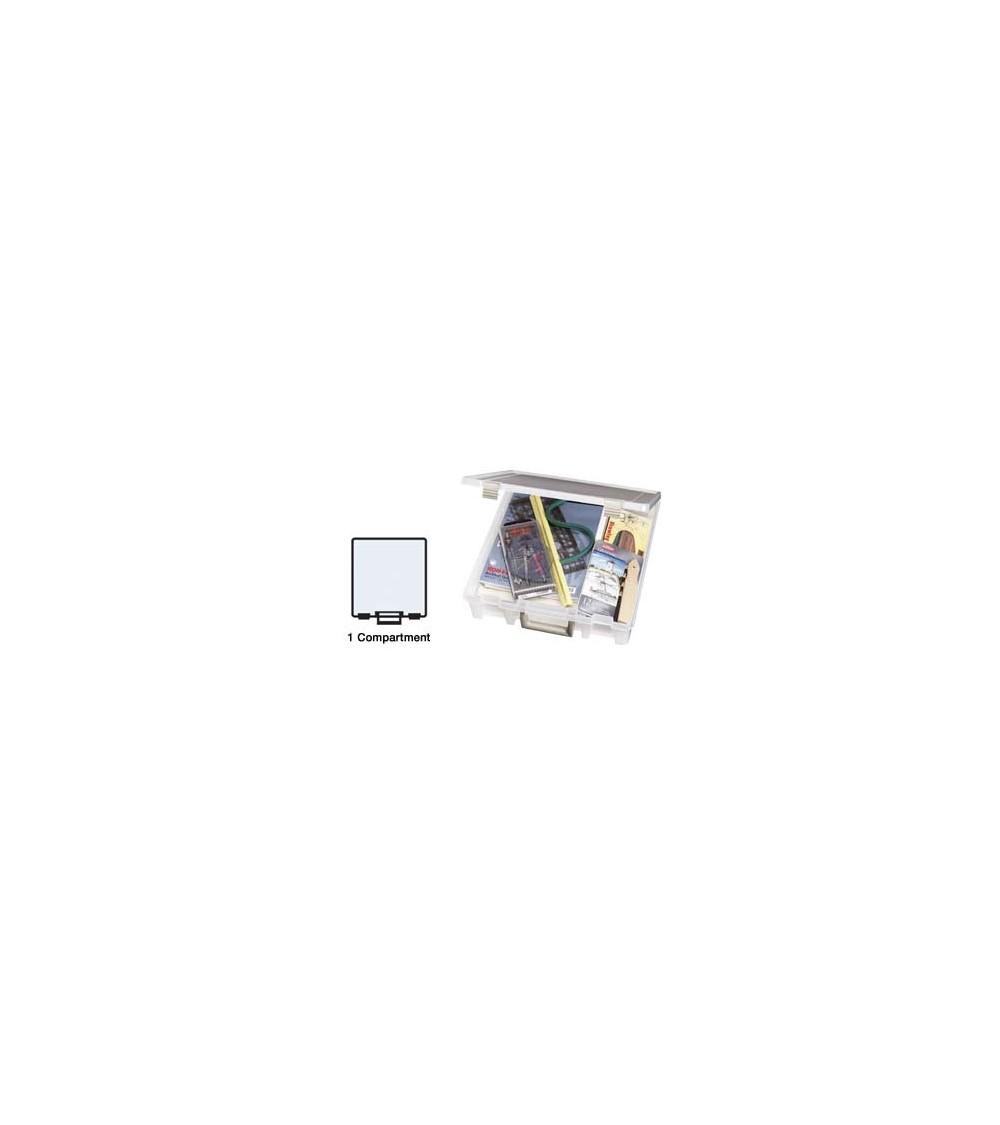 "ArtBin - Super Satchel Deep One Compartment Box f.12x12"" clear"