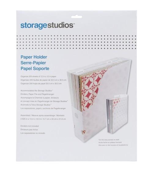 """Storage Studios / Cropper Hopper - Paper Holder 12x12"""" clear"""