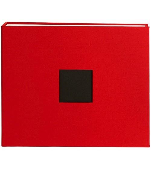"American Crafts Cloth D-Ring Album 12x12"" Cardinal (76028)"