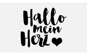 Hallo mein Herz